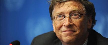 Bill Gates stopt 10 miljoen dollar in 'Big History'