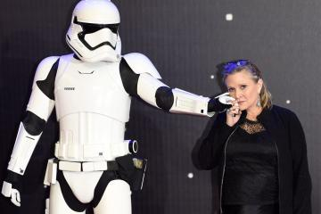 Carrie Fisher (Prinses Leia) overleden