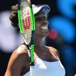 Venus Williams naar halve finales Melbourne