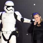 Carrie Fisher geëerd in nieuwe Star Tours