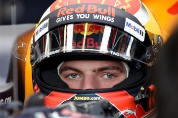 Max Verstappen slechts 12de in derde training
