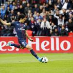Cavani langer bij Paris Saint-Germain