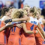 Hockeysters in halve finales op EK