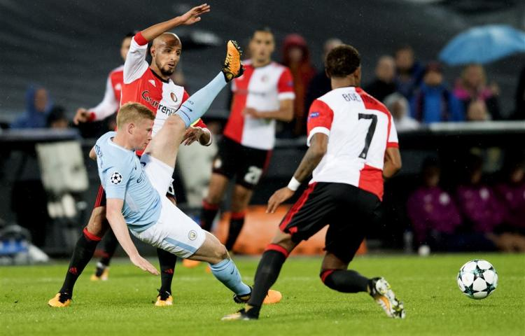 Belabberde start Feyenoord in Champions League