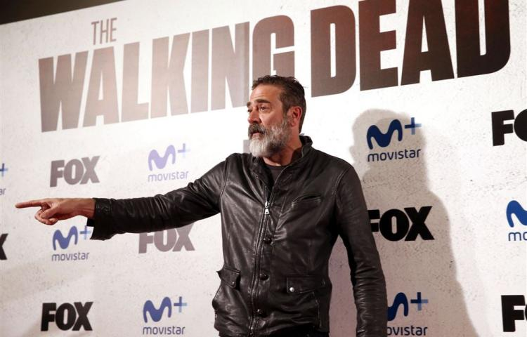 Irma legt opnames The Walking Dead plat