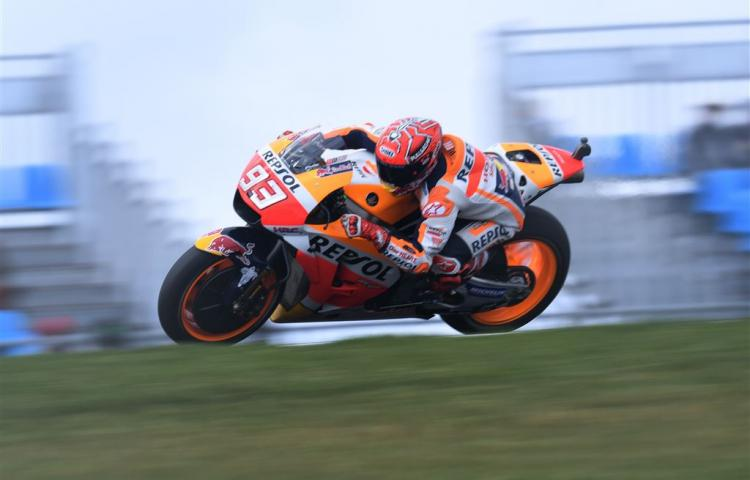 Poleposition Márquez in GP Australië