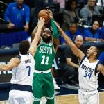 Boston wint nipt van Dallas in NBA