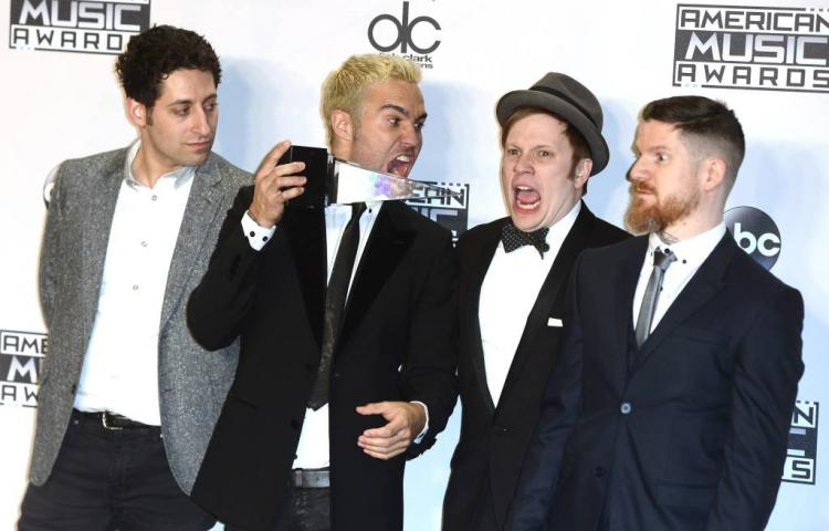 Fall Out Boy in april naar Amsterdam
