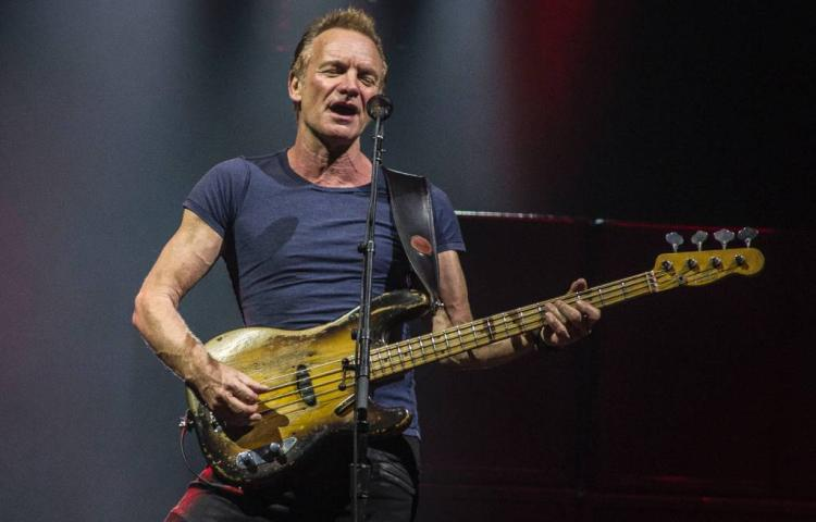 Sting en Alanis Morissette op Concert at SEA