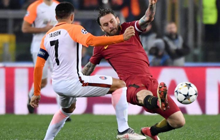 AS Roma naar kwartfinales van Champions League