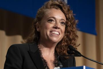 Michelle Wolf provides the entertainment at the 2018 White House Correspondents Association Annual Dinner at the Washington Hilton Hotel on Saturday, April 28, 2018. Photo Credit: Ron Sachs/CNP/AdMedia//ADMEDIA_adm_042818_WHCA-Dinner_CNP_016/Credit:Ron Sachs/SIPA/1804292356