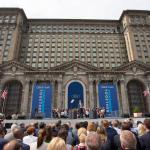 Ford gaat innoveren in ex-station Detroit