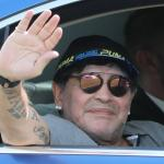 Maradona voorzitter club in Wit-Rusland