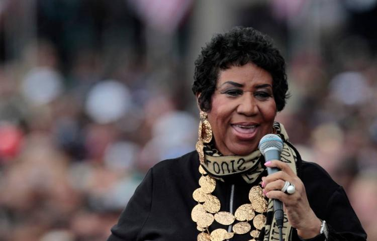 Aretha Franklin dit najaar geëerd in New York