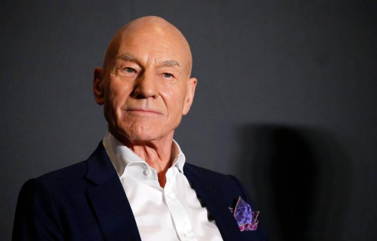 Rol Patrick Stewart in Charlie's Angels-remake