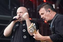 Disturbed geeft show in AFAS Live