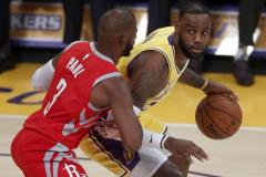 Nipte nederlaag James met Lakers